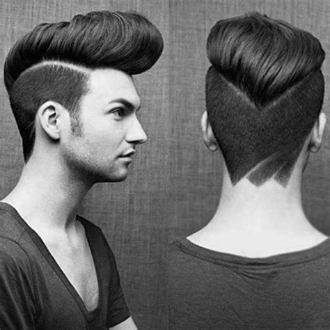 25 Pompadour Hairstyles And Haircuts Mens