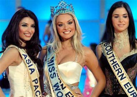 Tatana Kucharova Miss Crowned Miss World 2006 Pageant 2 by New Miss World Crowned World Smh Au