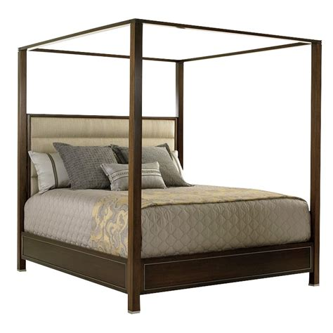 cal king canopy bed lexington macarthur park california king canopy panel bed
