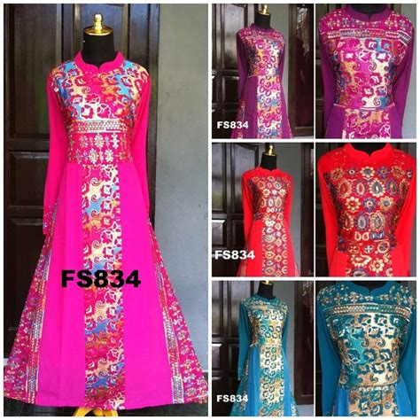 Baju Pesta Slim Princes Fs1470 fs834g fika shop