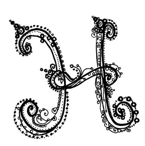Fancy Letter L | Fancy H Letter | Drawing | Pinterest ... H Alphabet Designs