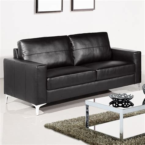 Small Black Leather Sectional Sofa Small Black Sofa Modern Bonded Leather Sectional Sofa Small E Configurable Thesofa