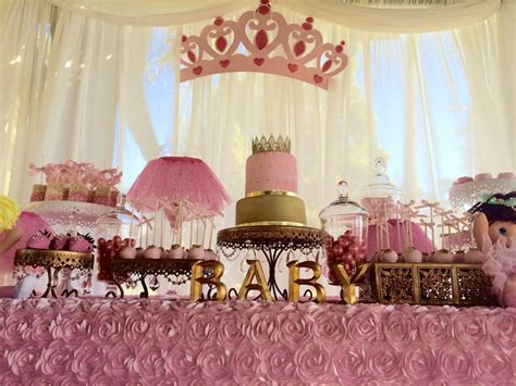 Baby Shower Princess Theme Ideas by Princess Baby Shower Cake Tutu And Tiara Baby