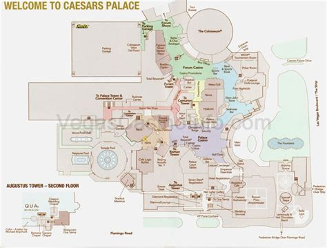 Floor Plan Of Caesars Palace Las Vegas | ceasar s palace indoor map las vegas trip 2015