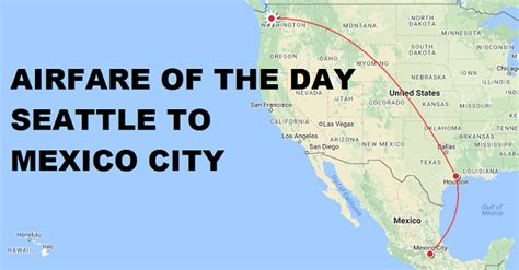 airfare of the day united airlines seattle to mexico city economy class 270 trip