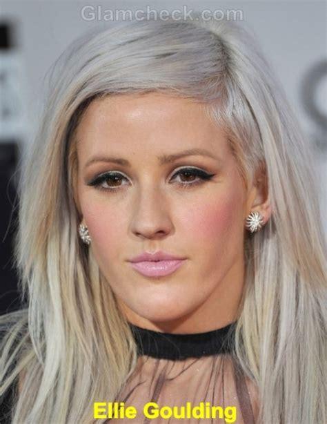 platinum hairstyles with some brown platinum blonde pixie cuts with lowlights dark brown hairs