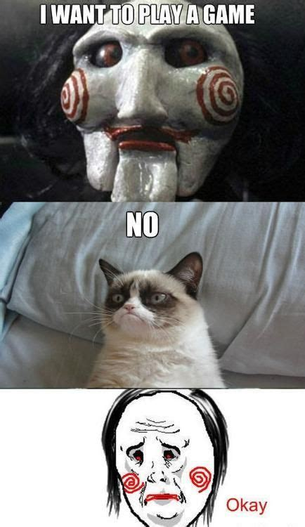 Saw Doll Meme - grumpy cat all hail tard the grumpy pinterest