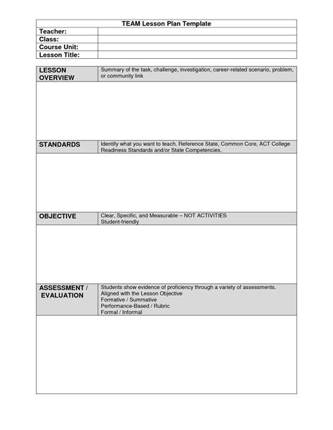 team plan template team lesson plan template 2018 world of reference