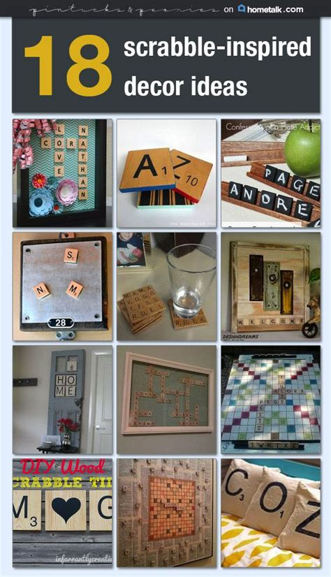 18 scrabble inspired decor ideas idea box by