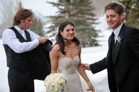 jared padalecki wedding pics quot dude you married ruby quot supernatural