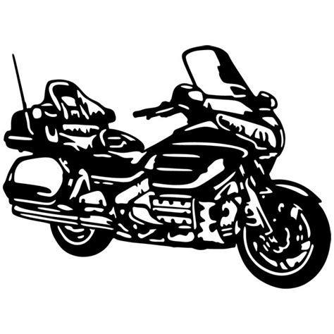 Wall Stickers How To Apply honda goldwing