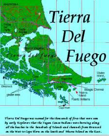 tierra fuego south america map maps of tierra fuego and cape horn