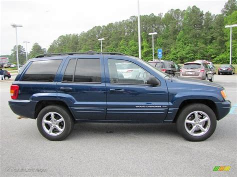 blue jeep grand cherokee 2004 2001 jeep grand cherokee blue 200 interior and exterior
