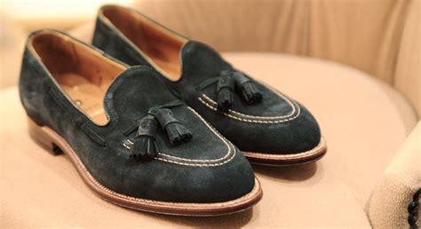alden suede loafer alden x tassels hk navy suede series s fashion