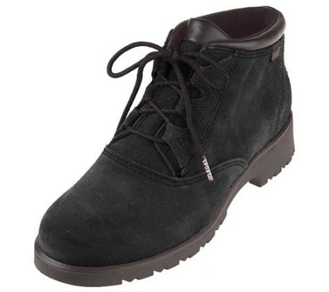 sporto waterproof suede ghille tie ankle boots a32105