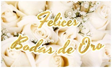 feliz aniversario de bodas oro un hijo cancionrs tarjeta de felices bodas de oro con flores con rosas y