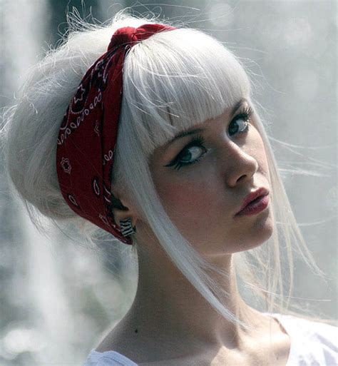 hairstyles white hair pure white hair the latest trends in women s hairstyles