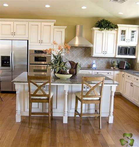 rustic white oak flooring kitchen home