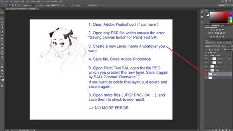 paint tool sai opening canvas failed paint tool sai fix saving canvas failed ver 2 by