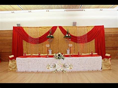 decoracion rojo y dorado faos events decoracion color rojo y dorado youtube