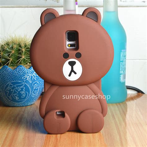 Softcase Kuat Line Brown Soft Cover Iphone 6 6s 3d brown rubber soft cover for