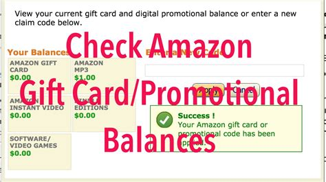Gift Cards And Promotional Codes For Amazon - check redeem your amazon gift cards and promotional codes