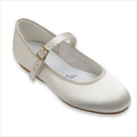 ivory satin flower shoes ivory flower shoes in satin for children with