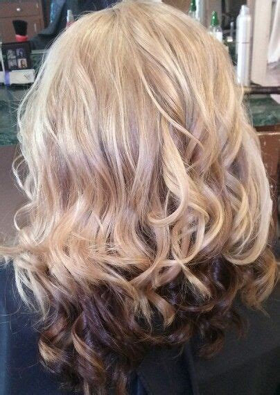 hairstyles with blonde on the bottom 17 best images about hair on pinterest red blonde