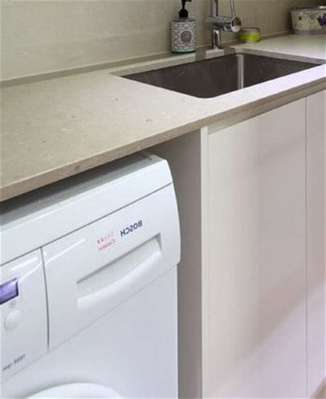 diy laundry room countertop washer dryer