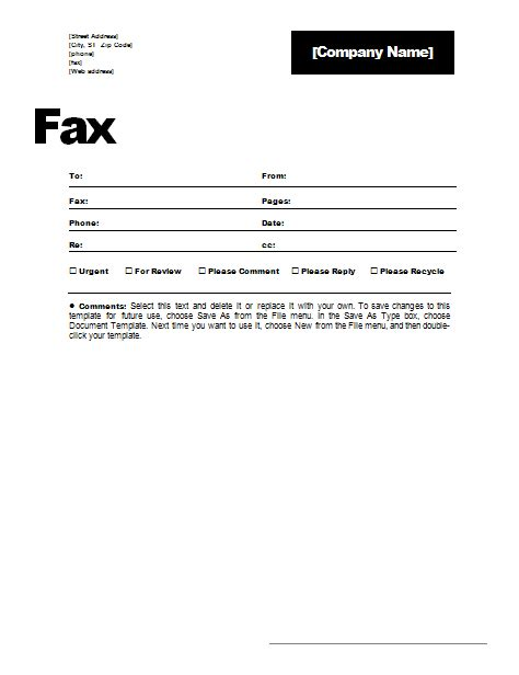 blank fax cover letter template girlshopes