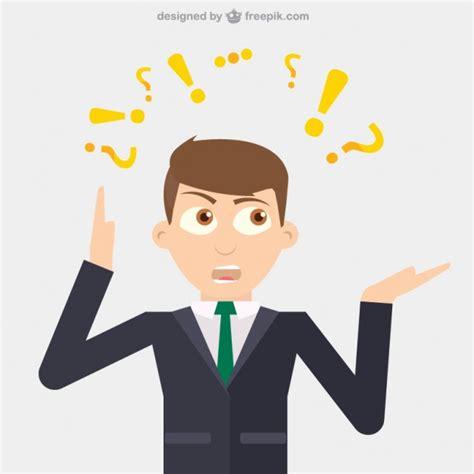 imagenes para pensar en alguien hombre de negocios pensando descargar vectores gratis