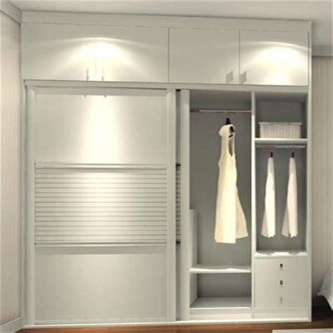 Aluminium Wardrobes by 2017 Assembled Wardrobe Aluminium Profile Sliding Wardrobe