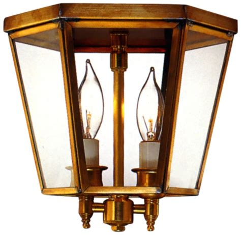 Colonial Ceiling Lights Annapolis Flush Mount Copper Colonial Ceiling Light
