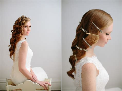 hollywood waves diy hair tutorial best wedding blog