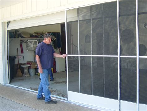 Sliding Garage Door Screen Kits Sliding Garage Door Screen Kits Home Design Ideas