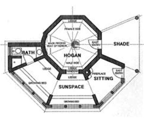 navajo hogan floor plans colorado solar hogan demonstration native peoples