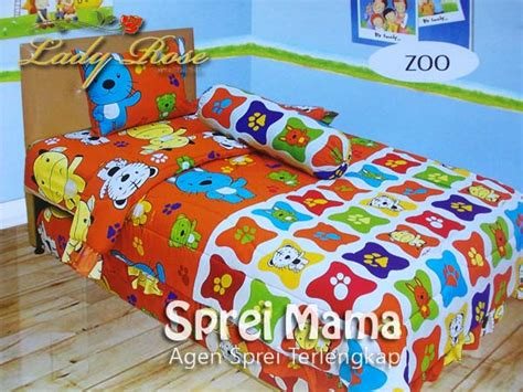 Seprai Single 2in1 Tenorikuma 120x200 sprei 2in1 sorong zoo 120x200 sprei sidoarjo