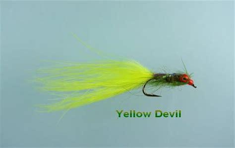 yellow devil pattern yellow devil fly fishing flies with fish4flies worldwide