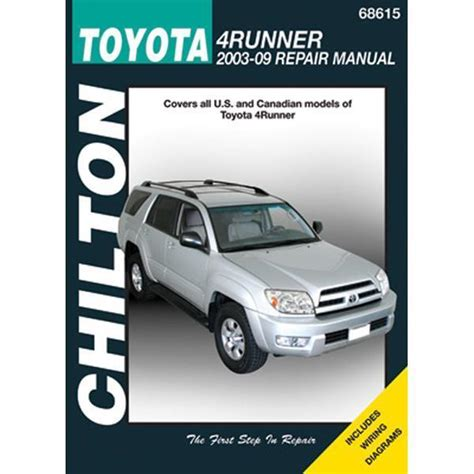 service manual online auto repair manual 2003 toyota prius on board diagnostic system toyota chilton repair manual toyota 4runner 2003 09 ebay