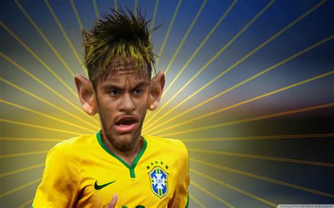 wallpaper neymar cartoon neymar jr transformation 4k hd desktop wallpaper for
