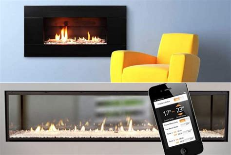 wordlesstech gas fireplace controled by iphone