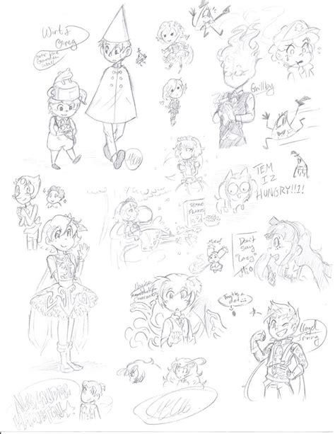 Doodles N Sketches by Sketches N Doodles By Mewnia On Deviantart