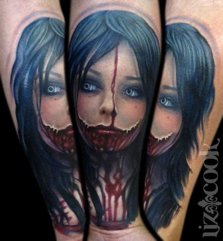 liz cook tattoo horror by liz cook tattoos