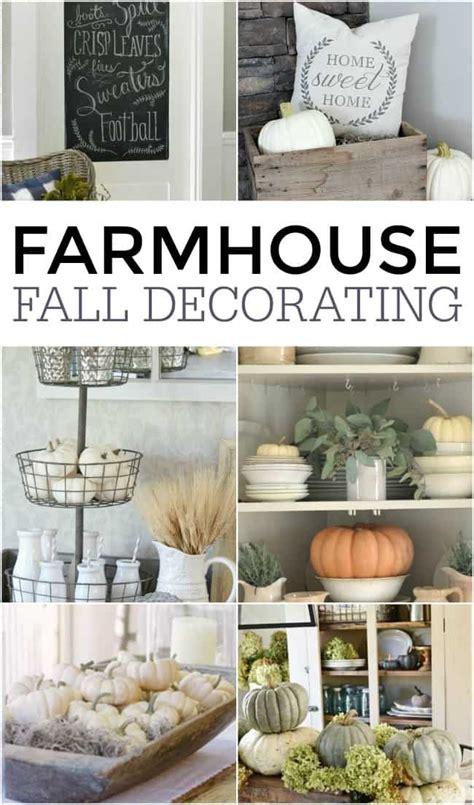 farmhouse decorating farmhouse fall decor ideas