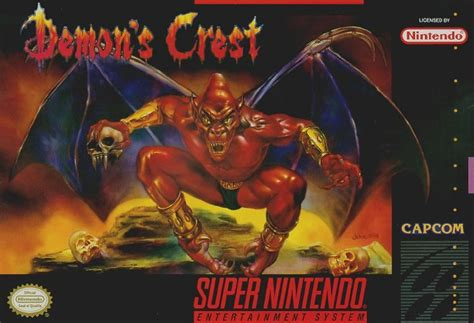 Demon's Crest   Ghosts 'n Goblins Wiki   FANDOM powered by Wikia