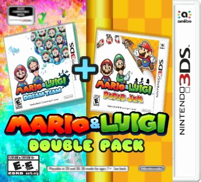 fan made mario fan made mario and luigi pack box by