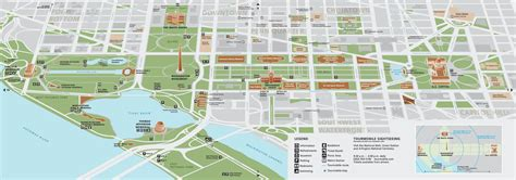 washington dc city layout map washington d c capitol hill map