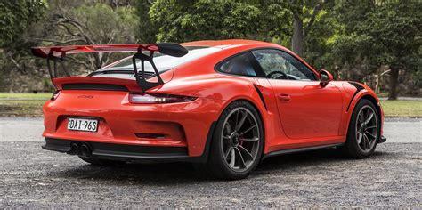 Porsche 911 Gt3 Rs Price by 2016 Porsche 911 Gt3 Rs Review Caradvice