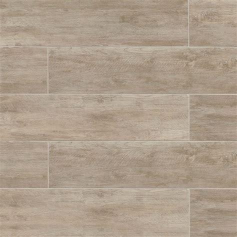 """River Wood 8"""" x 36"""" Floor & Wall Tile in Oak"""
