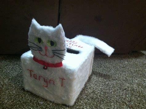 cat valentines box cat valentines box valentines day ideas